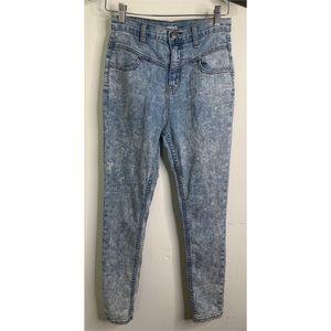 UO BDG Acid Wash High Rise Seam Jean
